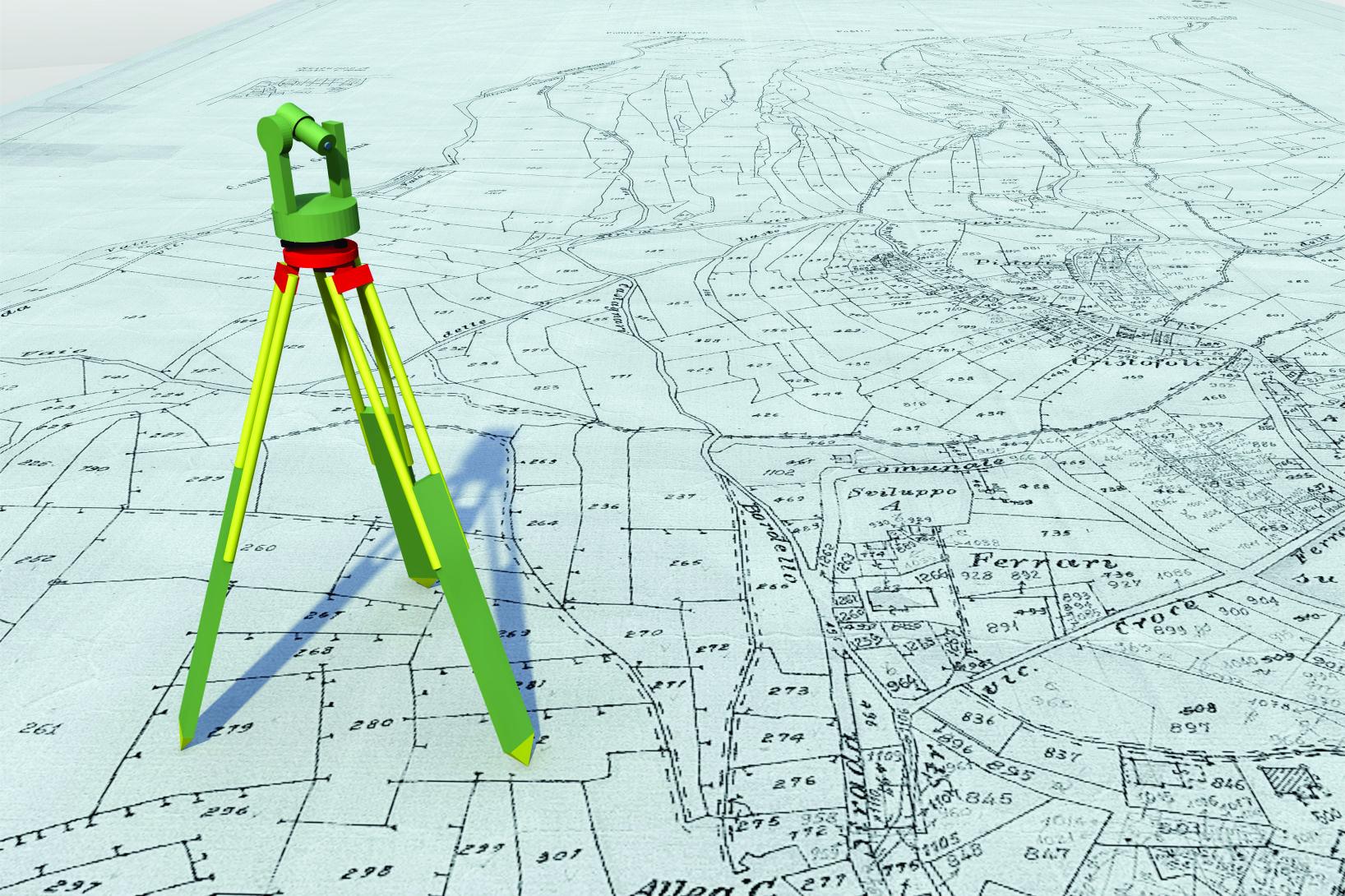 Locação de Pontos para Obras